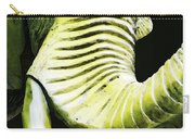 Tusk 1 - Dramatic Elephant Head Shot Art Carry-all Pouch by Sharon Cummings