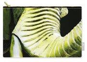 Tusk 1 - Dramatic Elephant Head Shot Art Carry-all Pouch