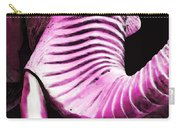 Tusk 2 - Pink Elephant Art Carry-all Pouch