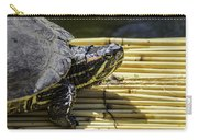 Tutle On Raft Carry-all Pouch