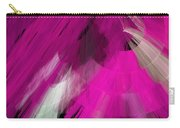 Tutu Stage Left Abstract Fuchsia Carry-all Pouch