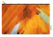 Tutu Stage Left Abstract Orange Carry-all Pouch