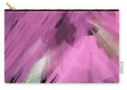 Tutu Stage Left Abstract Pink Carry-all Pouch