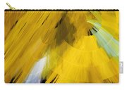 Tutu Stage Left Abstract Yellow Carry-all Pouch