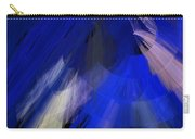Tutu Stage Left Blue Abstract Carry-all Pouch
