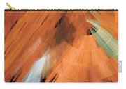 Tutu Stage Left Peach Abstract Carry-all Pouch