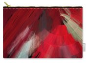 Tutu Stage Left Red Abstract Carry-all Pouch