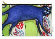 Tuxedo Cat On A Cushion Carry-all Pouch