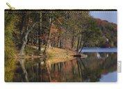 Tuxedo Lake Autumn Carry-all Pouch