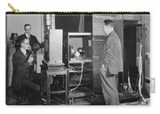 Tv Demonstration At Bell Labs Carry-all Pouch