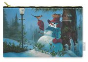 Tweet Dreams Carry-all Pouch by Michael Humphries