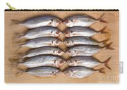 Twelve Kissing Fish Carry-all Pouch