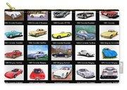 Twenty Corvettes Carry-all Pouch