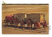 Twenty-mule Team In Sepia Carry-all Pouch