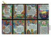 Twenty Third Psalm Collage 2 Carry-all Pouch