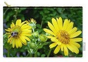 Twin Daisies  Carry-all Pouch