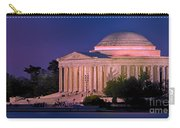 Twilight At The Jefferson Memorial Carry-all Pouch