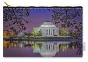 Twilight At The Thomas Jefferson Memorial  Carry-all Pouch