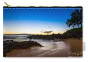 Twilight Beach - Beautiful And Secluded Secret Beach In Maui. Carry-all Pouch