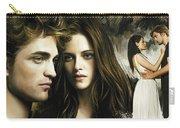 Twilight  Kristen Stewart And Robert Pattinson Artwork 1 Carry-all Pouch