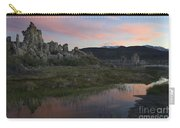 Twilight, Mono Lake, California Carry-all Pouch