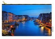 Twilight On The Grand Canal Carry-all Pouch