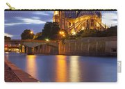 Twilight Over Notre Dame Carry-all Pouch