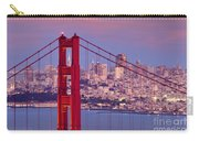Twilight Over San Francisco Carry-all Pouch