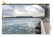 Twin Bridges Over Blue Water Carry-all Pouch