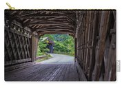 Twin Covered Bridges North Hartland Vermont Carry-all Pouch