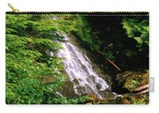 Twin Falls Creek Mount Rainier Carry-all Pouch