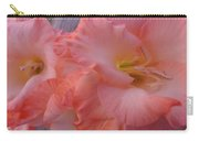 Twin Gladiola Blooms Carry-all Pouch