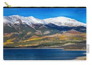 Twin Lakes Colorado Autumn Panorama Carry-all Pouch