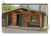 Twin No. 1 Cabin At The Holzwarth Historic Site Carry-all Pouch