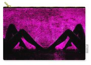 Twin Nude Silhouette Carry-all Pouch