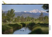 Twin Peaks View Carry-all Pouch by James BO  Insogna
