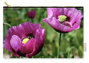 Twin Poppies Carry-all Pouch