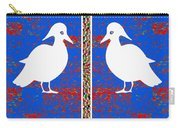 Twin Souls Love Birds Snow White Color Carry-all Pouch