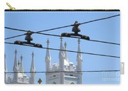 Twin Spires And Trolley Lines Carry-all Pouch