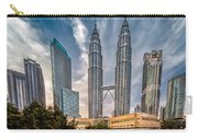 Twin Towers Kl Carry-all Pouch by Adrian Evans