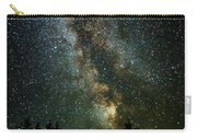 Twinkle Twinkle A Million Stars D1951 Carry-all Pouch by Wes and Dotty Weber