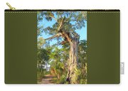 Twirling Tree Path Carry-all Pouch