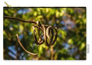 Twirling Vine Tendril Carry-all Pouch