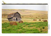 Twisted Barn On Canadian Prairie, Big Carry-all Pouch