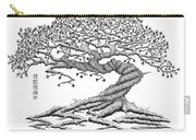 Twisted Gnarled Black Pine Carry-all Pouch