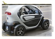Twizy Rental Electric Car Side And Back Milan Italy Carry-all Pouch