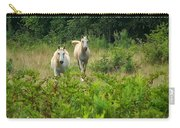Two Appaloosa Horses  Carry-all Pouch