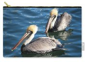 Two Beautiful Pelicans Carry-all Pouch