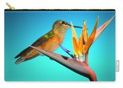 Two Birds Of Paradise Carry-all Pouch