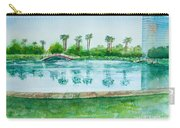 Two Bridges At Rainbow Lagoon Carry-all Pouch